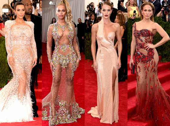 Sheer Gowns