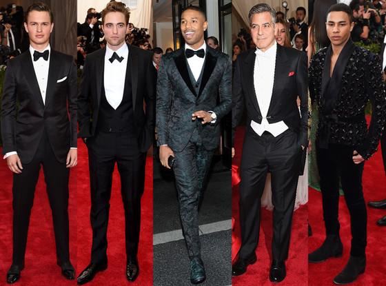 Best Dressed Men, Met Gala 2015