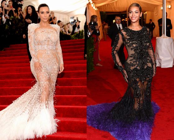 Kim Kardashian West, Beyonce Met Gala