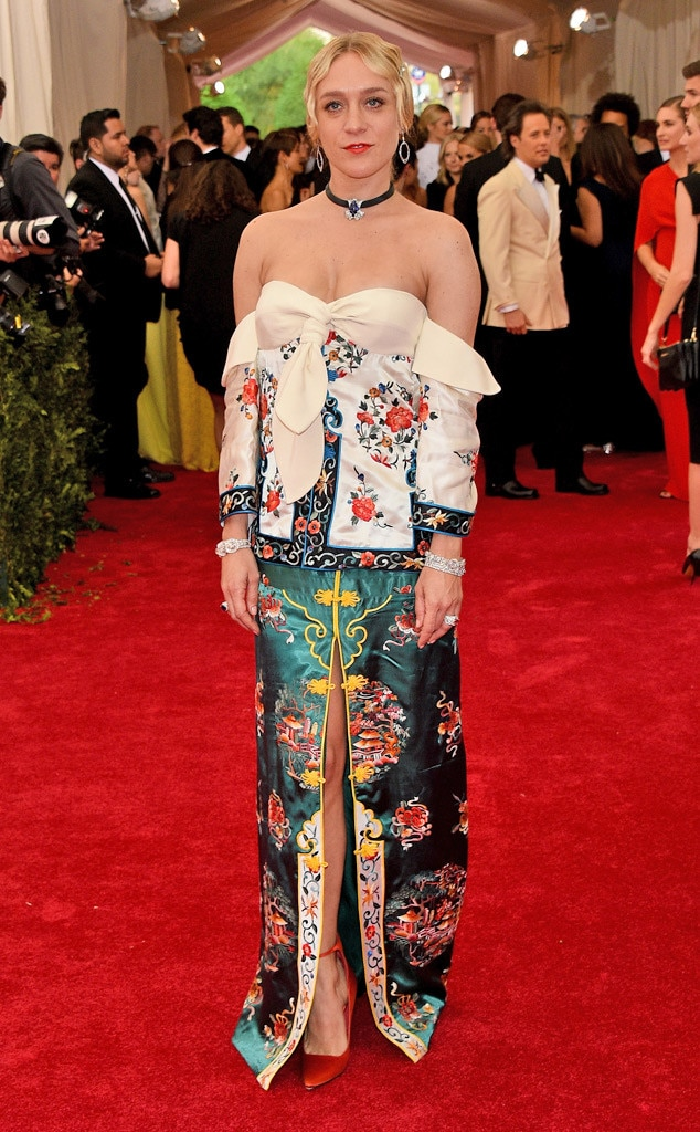 Chlo 235 Sevigny From 2015 Met Gala Arrivals E News