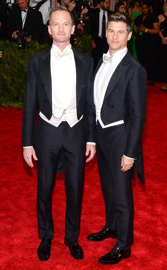 Neil Patrick Harris, David Burtka, Met Gala 2015, Couples