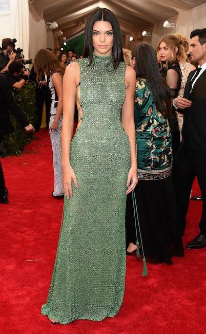 Kendall Jenner, Met Gala 2015, Red Carpet Fashions, Kardashian Met Gala Widget