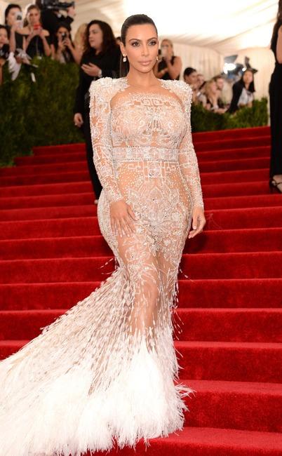 Kim Kardashian West, Met Gala 2015, Red Carpet Fashions, Kardashian Met Gala Widget