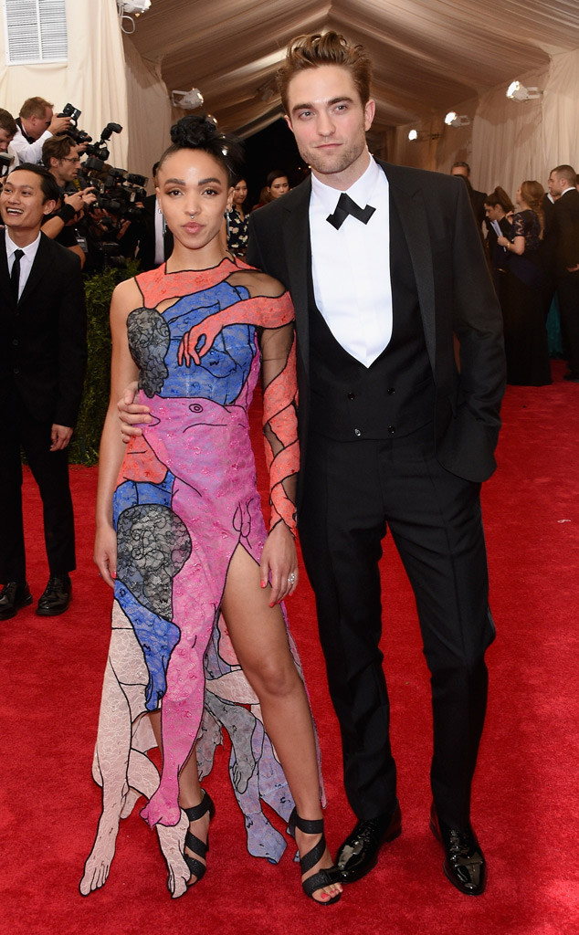 Robert Pattinson, FKA TwigsMet Gala 2015