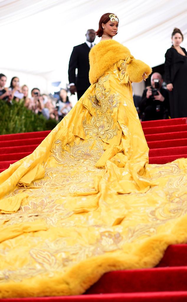 Rihanna, 2015 Met Gala
