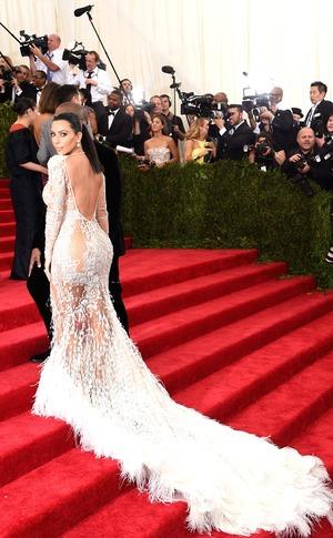 Kim Kardashian West, Kanye West, Met Gala 2015