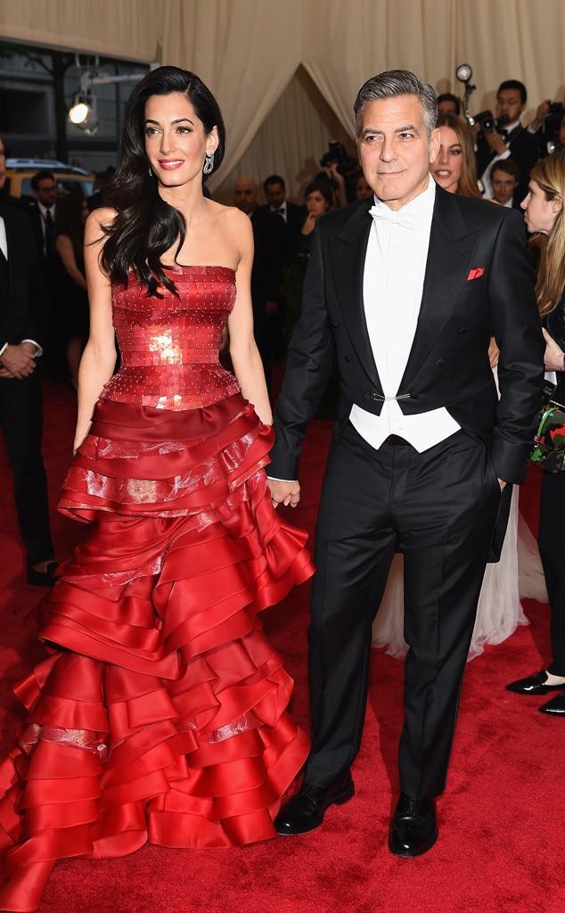 George Clooney, Best Dressed Men, Met Gala 2015