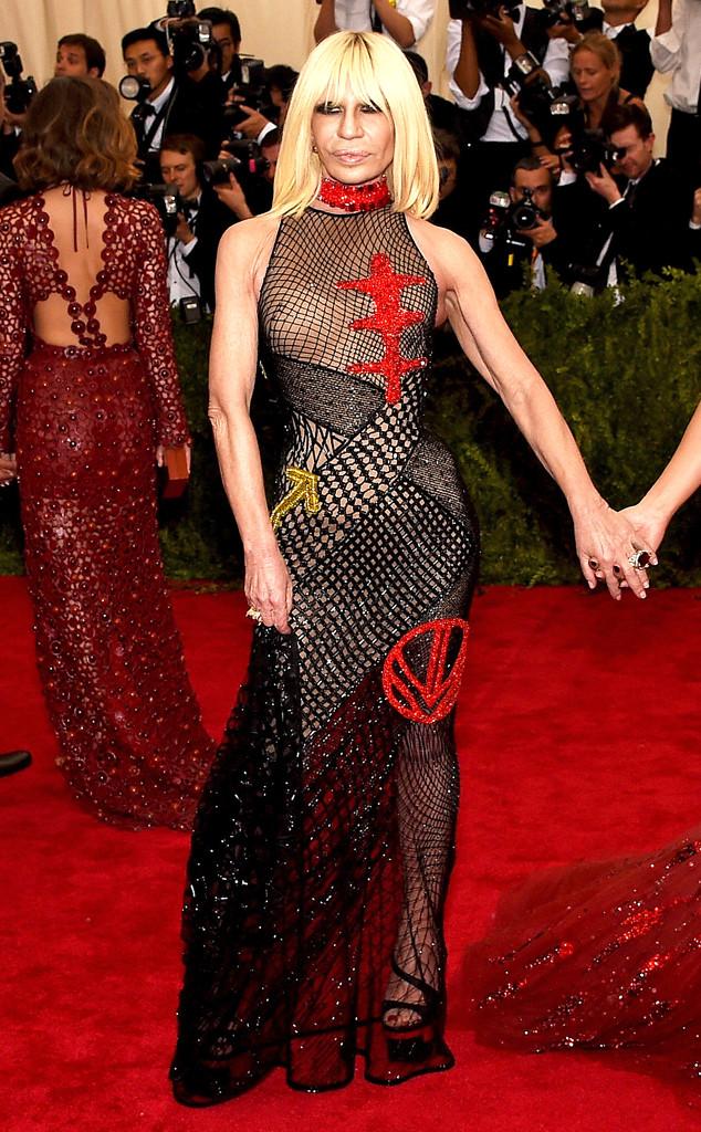 Donatella Versace, Met Gala 2015