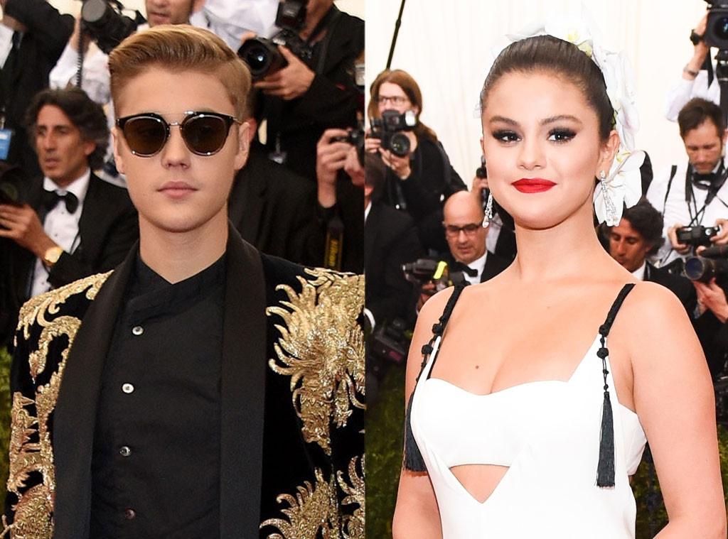 Justin Bieber, Selena Gomez, Met Gala 2015