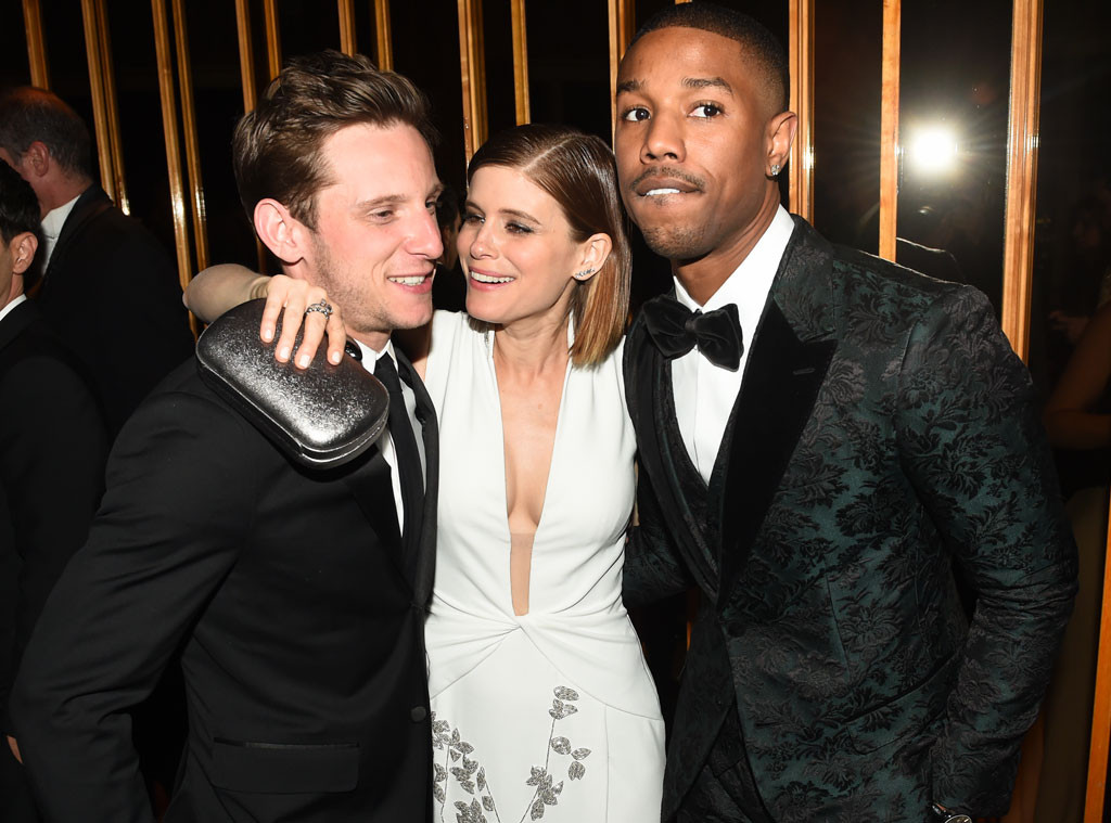 Jamie Bell, Kate Mara, Michael B. Jordan, Met Gala Party