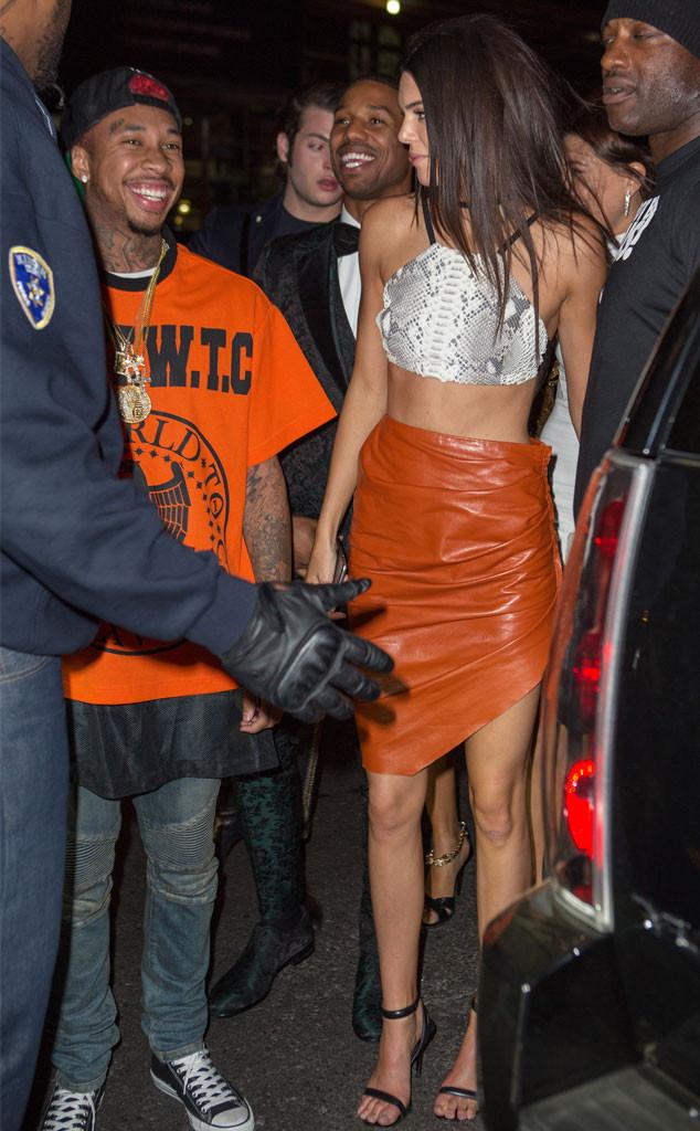 Kendall Jenner, Tyga, Michael B. Jordan