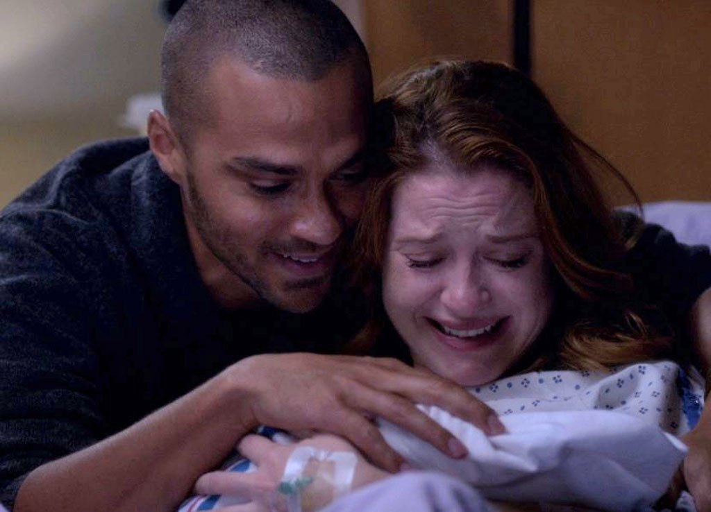 Greys Anatomy Deceased Characters April And Jacksons Baby
