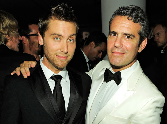 Lance Bass, Andy Cohen