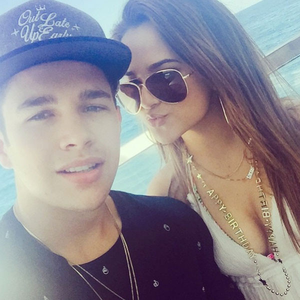 Austin mahone drops new music including song with ex girlfriend becky g austin mahone instagram voltagebd Images