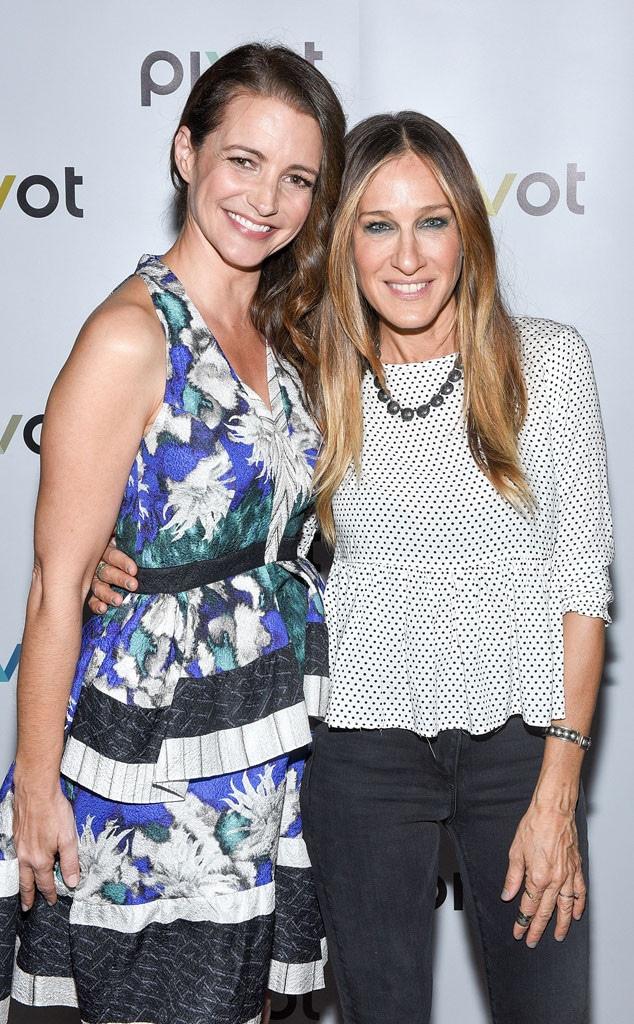 Kristin Davis, Sarah Jessica Parker