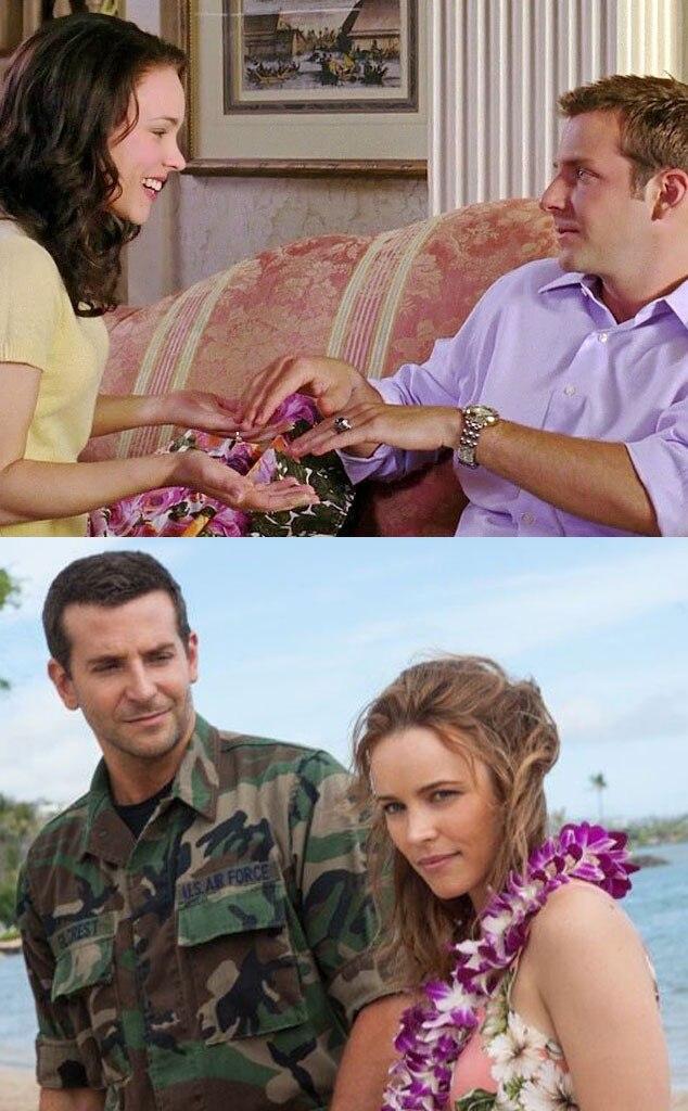 Bradley Cooper, Rachel McAdams, Aloha, Wedding Crashers