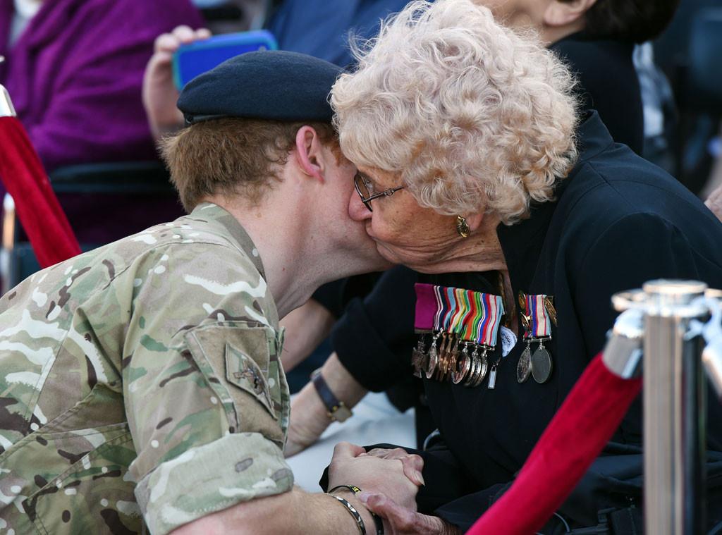 Prince Harry, Royal Fan, Kiss