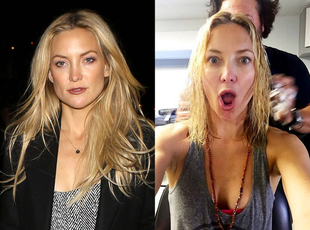 Kate Hudson Shares Selfie Of Her New Short Haircut See The Pic E Online