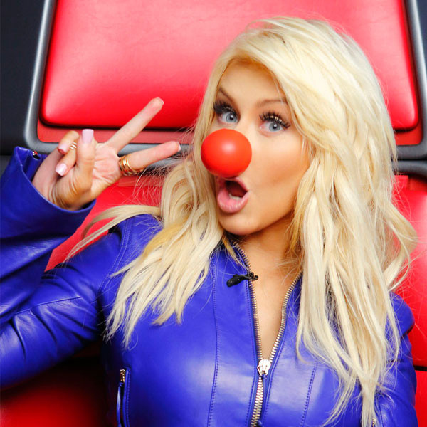 Red Nose Day, Christina Aguilera