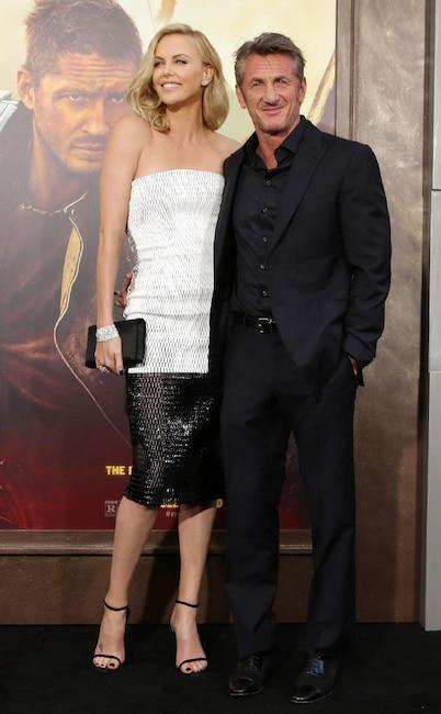 Charlize Theron, Sean Penn, Mad Max Premiere