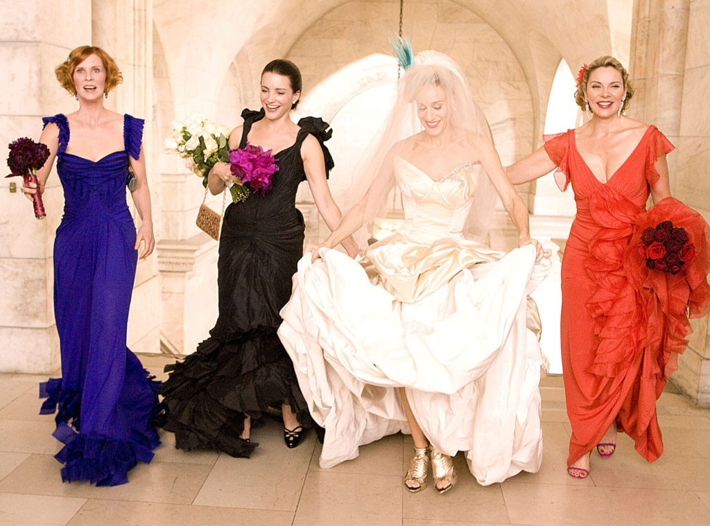 from Conrad dresses from sex and the city the movie