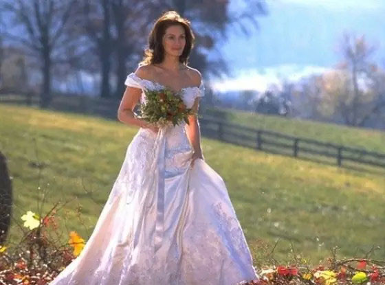 Best TV/Movie Weddings, Runaway Bride