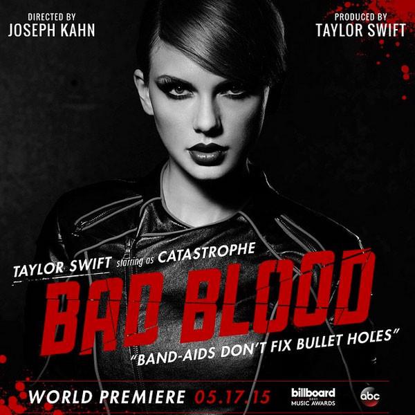 Taylor Swift, Bad Blood, Instagram