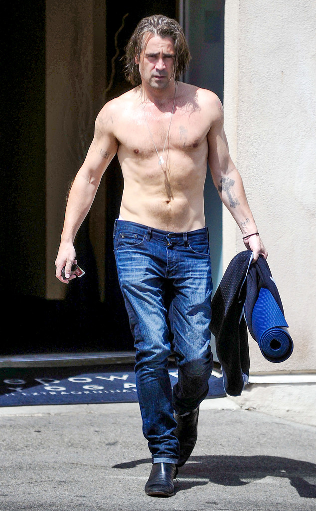 Colin Farrell, Yoga