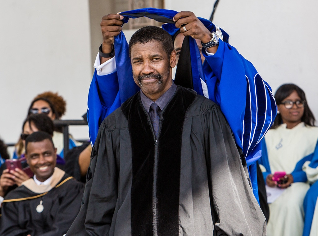 Denzel Washington -  The actor proves once again that he's absolutely  Unstoppable , receiving an honorary degree from the University of Pennsylvania.