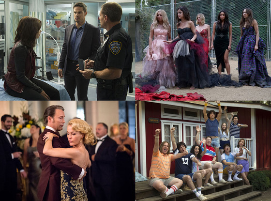 Summer TV Preview, Pretty Little Liars, Hannibal, Beauty and the Beast, Wet Hot American Summer First Day of Camp