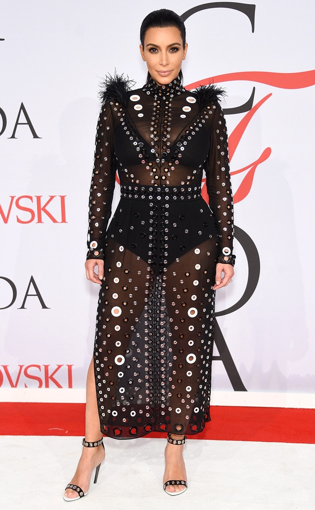 Perfect in Proenza -  Kim walks the 2015 CFDA Fashion Awards red carpet in thisProenza Schouler-designed gown.