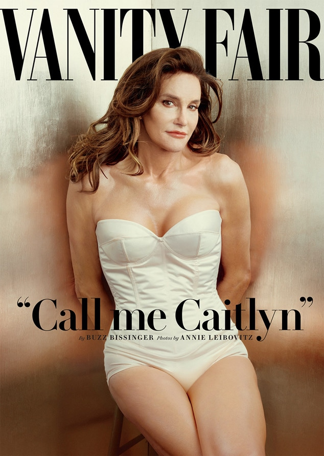 Caitlyn Jenner, Bruce Jenner, Vanity Fair, Magazine, Iconic Celeb Photos
