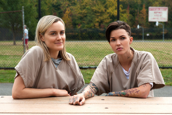 Orange Is The New Black, OITNB, Taylor Schilling, Ruby Rose