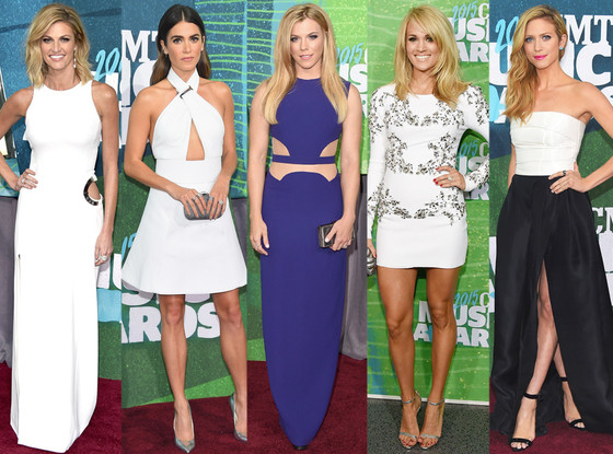 Best Dressed CMT Awards