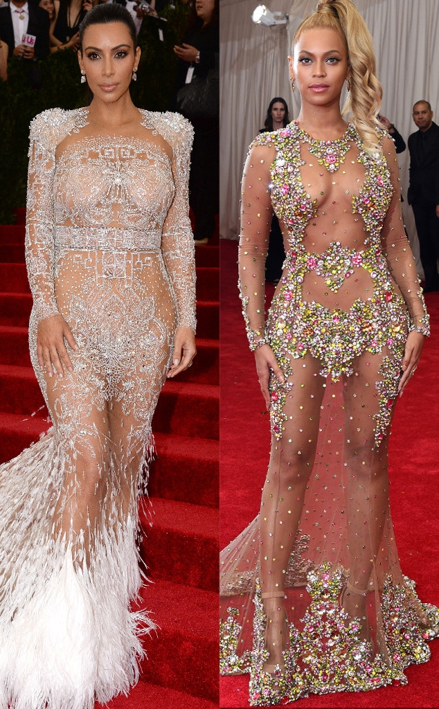 Kim Kardashian, Beyonce, Met Gala 2015
