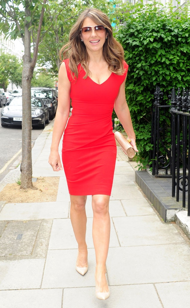 Elizabeth Hurley From The Big Picture Today S Hot Photos