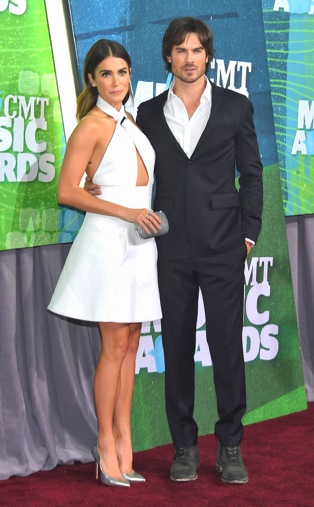 Nikki Reed, Ian Somerhalder, CMT Awards