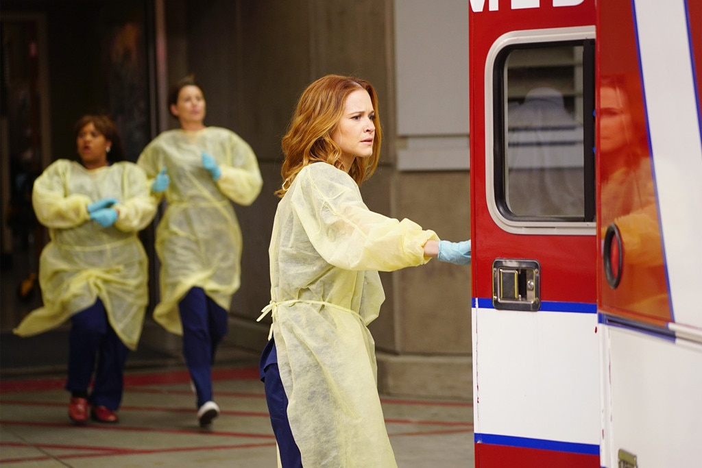Sarah Drew Greys Anatomy From Emmy First Timers Who Better Get