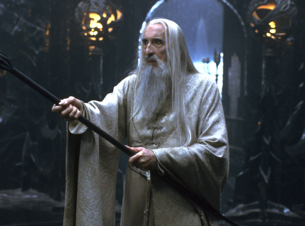 Christopher Lee, The Lord of the Rings