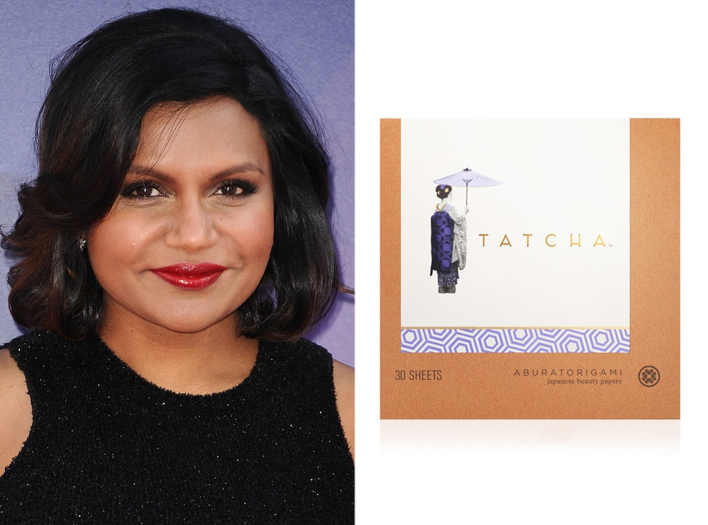 Mindy Kaling, Celeb's Favorite Beauty