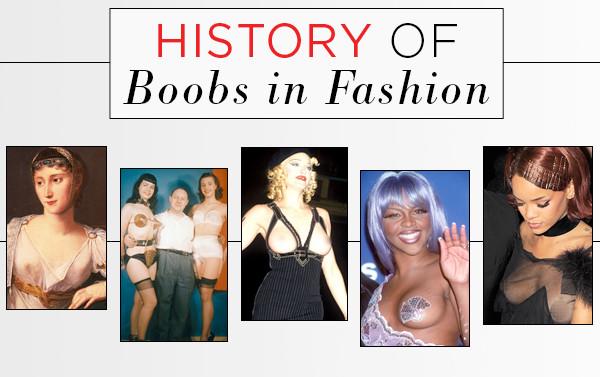 ESC, History of Boobs in Fashion