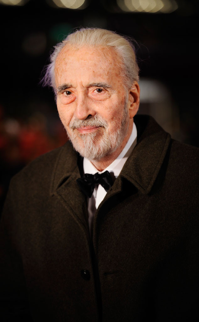 British Star Christopher Lee Dead at 93 | E! News