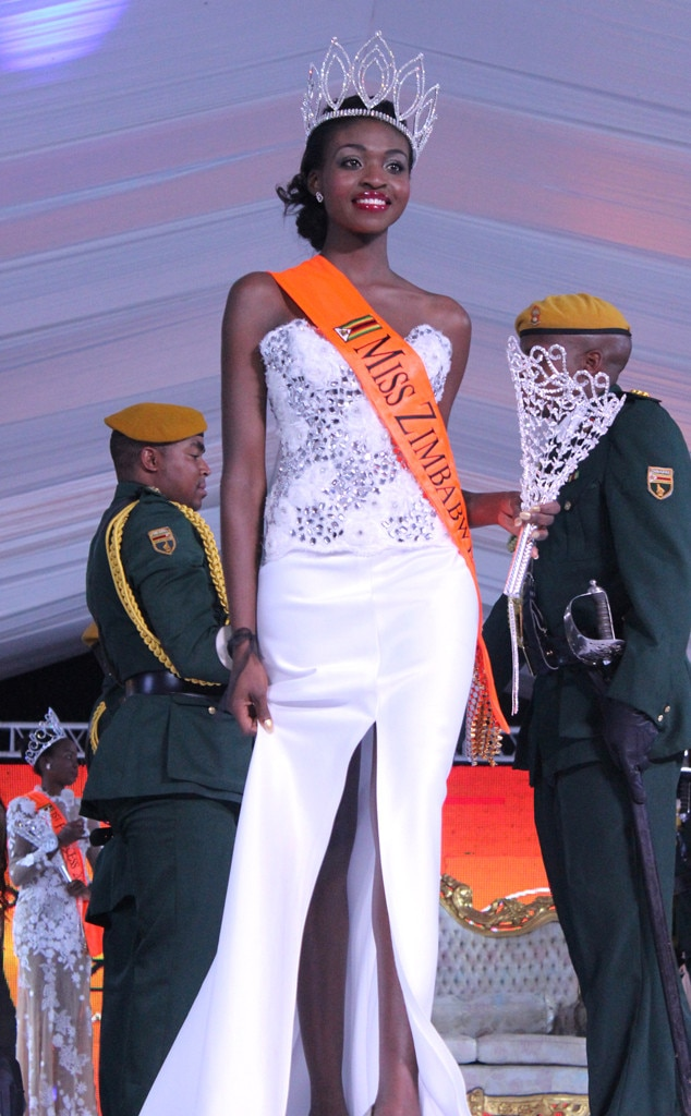 Emily Kachote -  The reigning Miss Zimbabwe was stripped of her title after nude photos of her surfaced on an app in 2015.