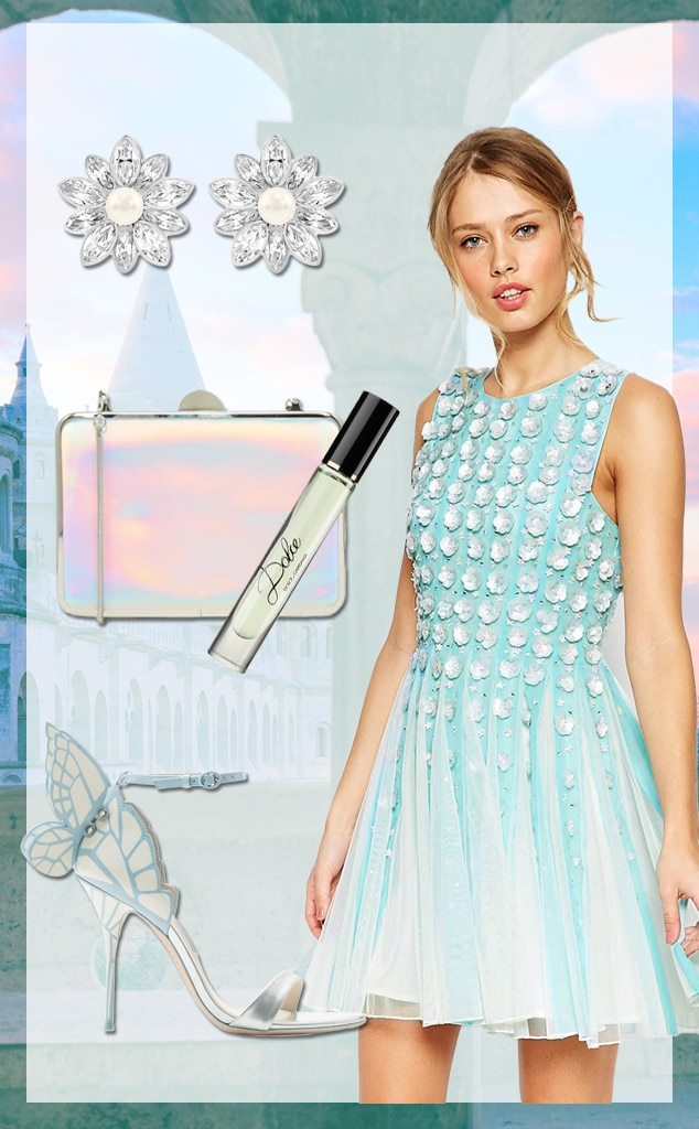 1eedefe4b61c2 Cinderella Wedding from 15 Wedding Guest Outfit Ideas for Every Type ...