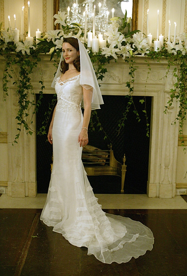 Love Actually From Best Tv Movie Wedding Dresses E News
