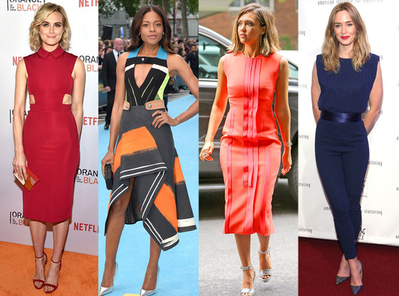 Best Looks of the Week, Taylor Schilling, Naomi Harris, Jessica Alba, Emily Blunt