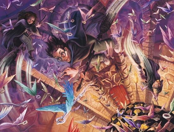 As capas originais não utilizadas do livro Harry Potter