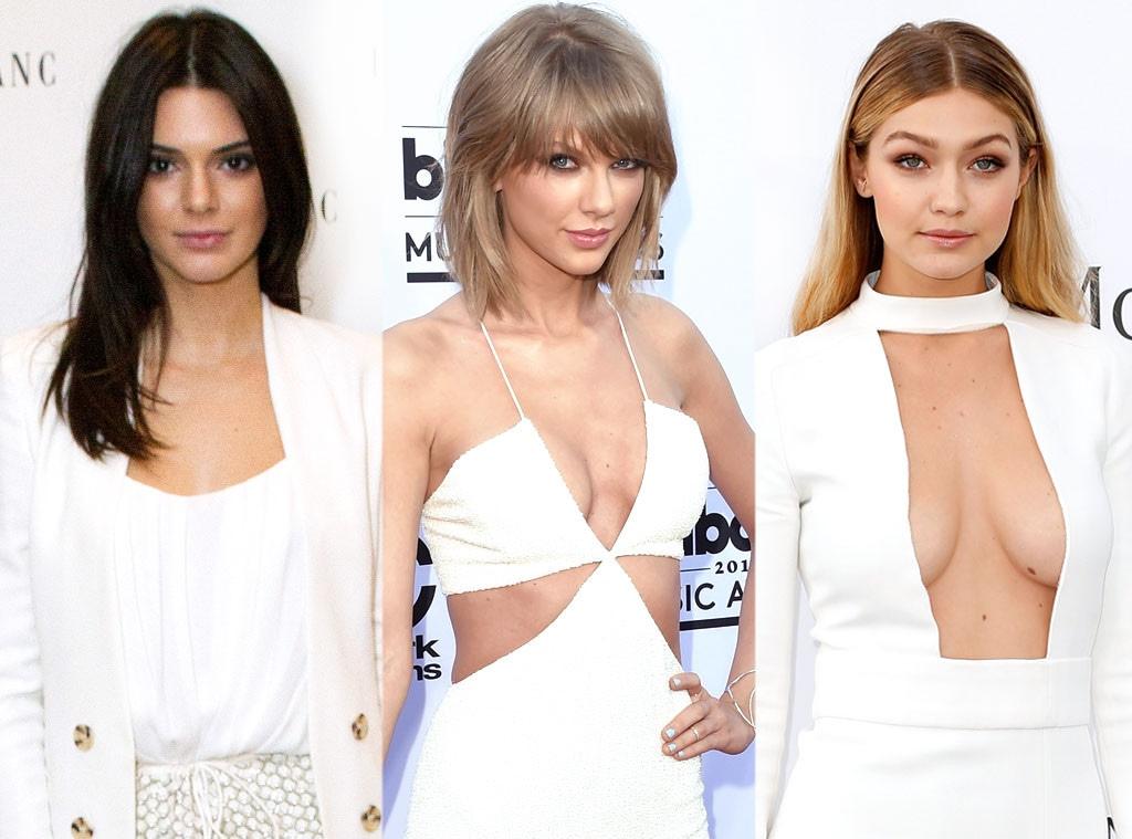 Kendall Jenner, Taylor Swift, Gigi Hadid
