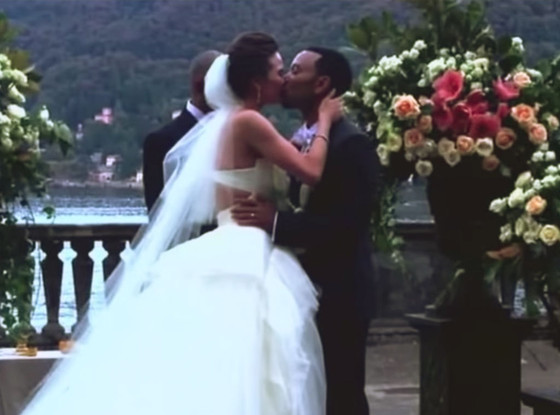 John Legend, Chrissy Teigen, Wedding