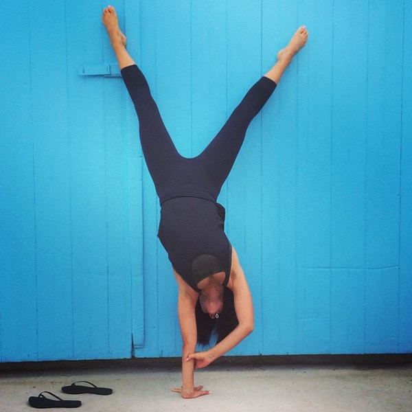 Hilaria Baldwin, Yoga
